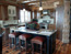 Bozeman MT Custom Log Home Kitchen