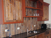 Big Sky Custom Wood Bar