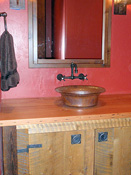 Raised Sink Bathroom Counter, MT