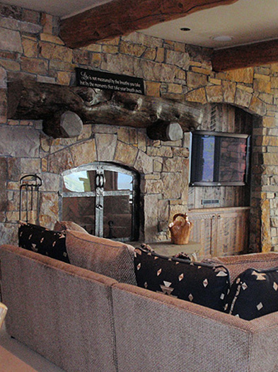 Fireplace & Rockwork - Hackbarth Construction